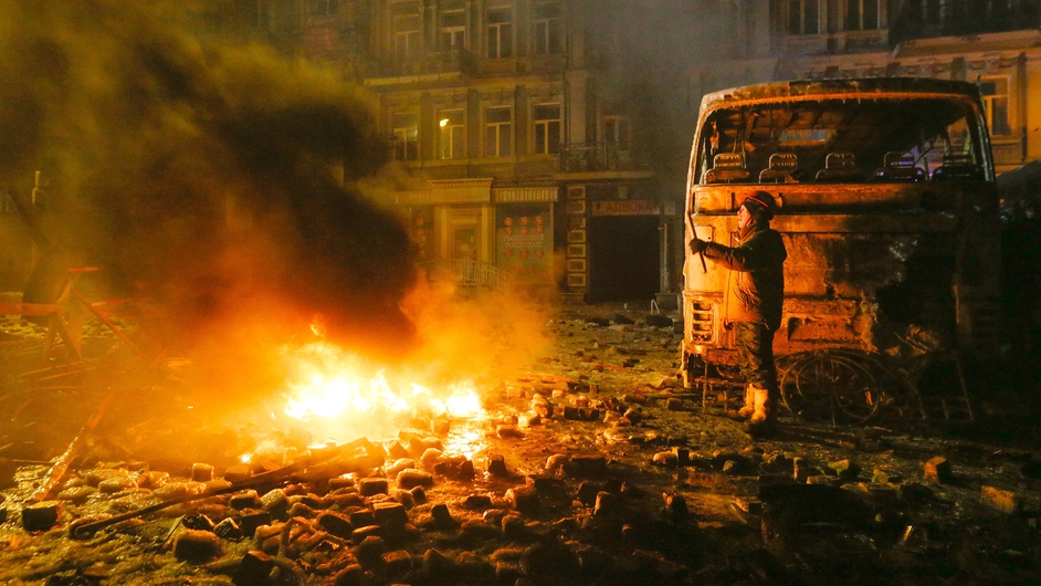 More than 200 people have been injured in two days of violence