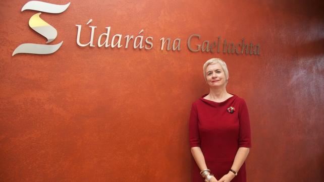 Anna Ní Ghallachair, chairperson of Údarás na Gaeltachta