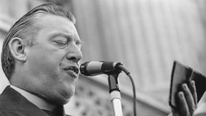 Mr Paisley makes a speech in June 1974