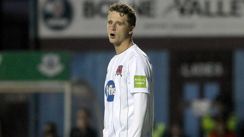 Mark Griffin returns from a spell at Derry