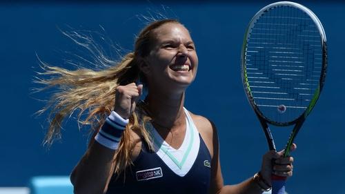 Dominika Cibulkova eased into the final with a 61 62 victory over Agnieszka Radwanska