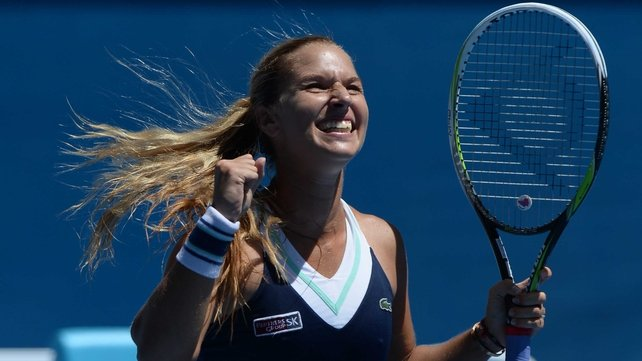 Dominika Cibulkova had little difficulty in booking her semi-final spot with victory over Simona Halep
