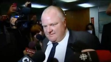 Toronto mayor, Rob Ford admits he had been drinking 'a little bit'