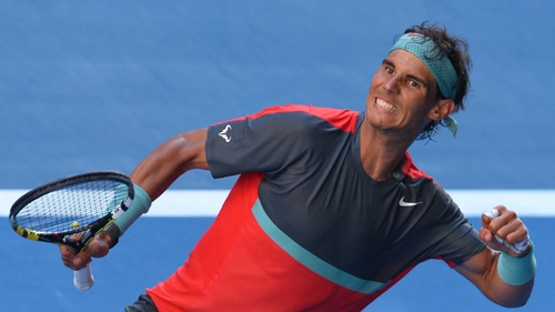 Rafael Nadal wrapped up win in 62 minutes