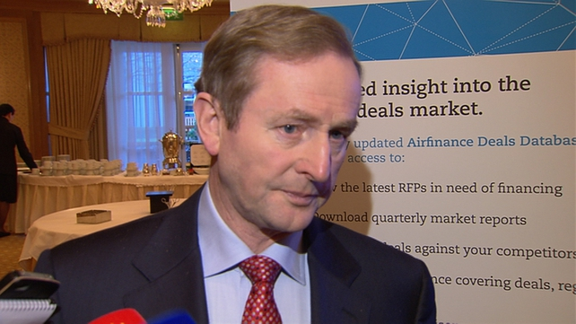 Taoiseach Enda Kenny will travel to the Swiss resort later this evening