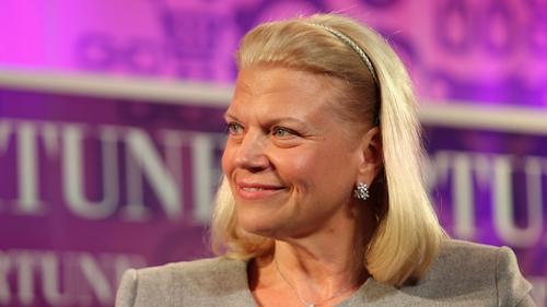 IBM's outgoing CEO Ginni Rometty