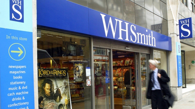 WH Smith said total sales fell 4% in the 20 weeks to January 18