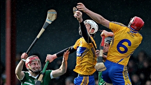 Clare got the better of Limerick in the Waterford Crystal Cup at Sixmilebridge