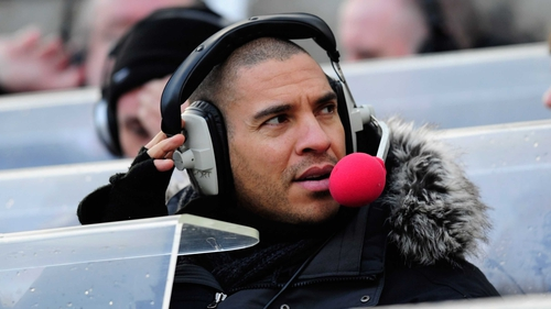 Stan Collymore said he had spoken with police about the Twitter messages