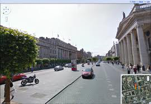 24 Hours on O'Connell Street Dublin