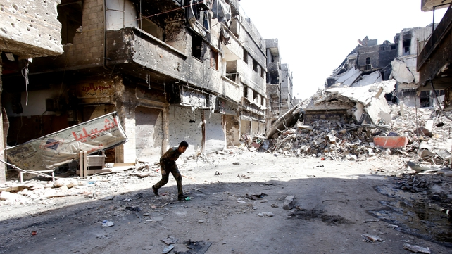 More than 130,000 Syrians have been killed in the conflict