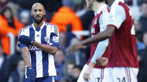 "Nicolas Anelka did ""quenelle"" after scoring against West Ham"