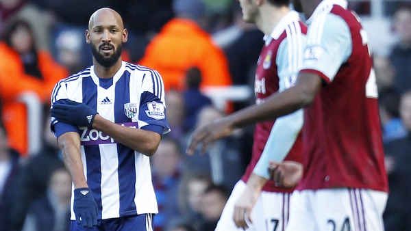 Nicolas Anelka made the quenelle gesture in December