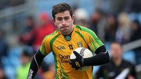 Paddy McBrearty believes Donegal cannot afford to be purely satisfied with promotion back to Division 1 ahead of the second tier final with Monaghan