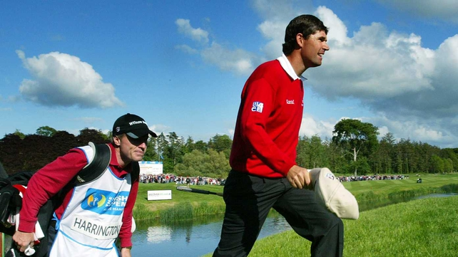 Padraig Harrington, like all golfers, spends endless hours in direct sunlight playing on the US and European tours