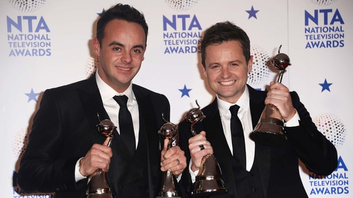 Tea-time telly titans Ant and Dec