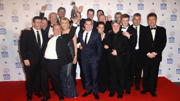 O'Carroll and the gang - Awards success continues