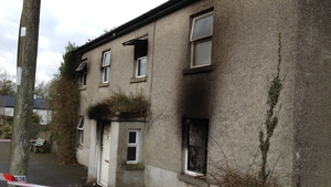 The blaze was extinguished shortly after 3am