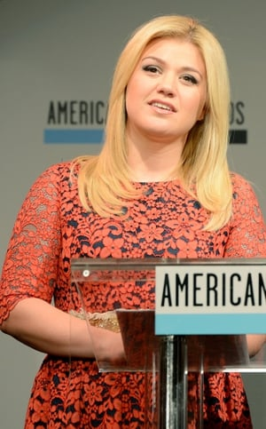 Kelly Clarkson revealed she is expecting a baby girl with her husband Brandon Blackstock