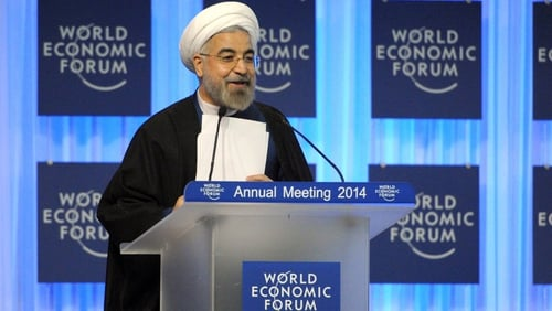 Hassan Rouhani said relations with Europe were normalising