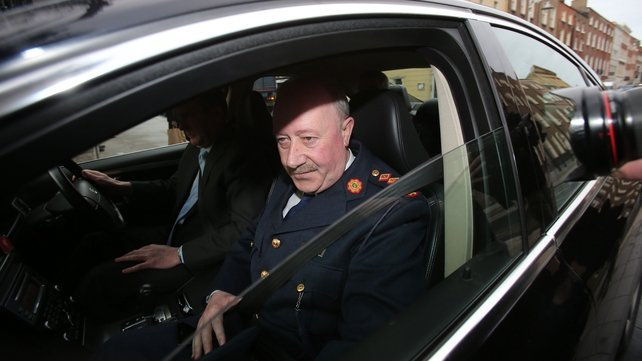 Martin Callinan faced questions over penalty point allegations
