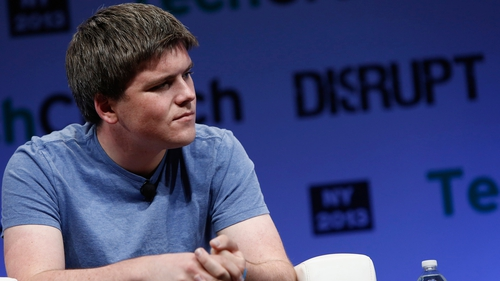 John Collison, one of the Limerick brothers who founded Stripe