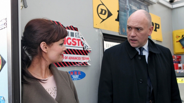 Paul is stunned to see Jane is back
