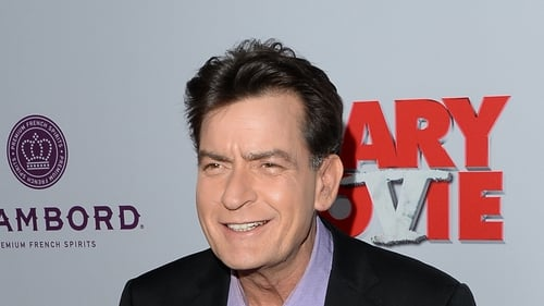 Charlie Sheen admits to staged car crash