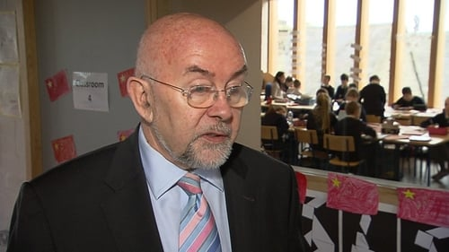 Ruairi Quinn said the review is not about a reduction in services
