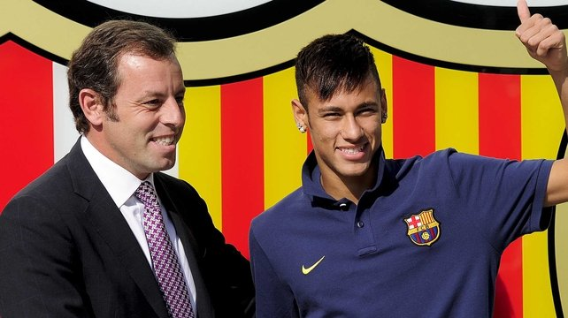 Rosell's resignation comes amid allegations that he misappropriated funds from the signing of striker Neymar in June