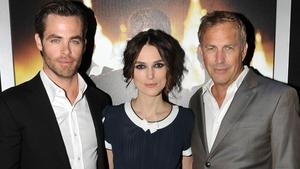 Jack Ryan stars Chris Pine, Keira Knightley and Kevin Costner