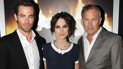 Jack Ryan stars Chris Pine, Keira Knightley and Kevin Costner