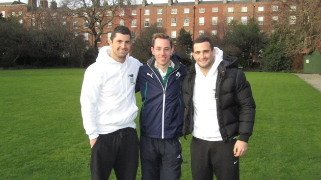 Rob and Dave Kearney will be chatting to Ryan on the Late Late Show