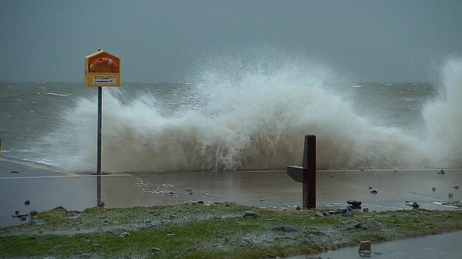 The recent violent storms battered Ireland's coastline over a prolonged period
