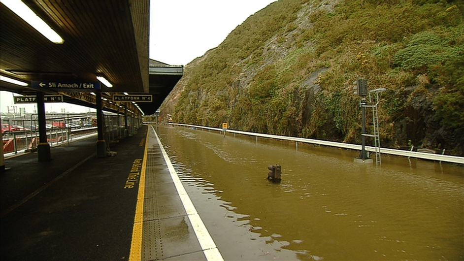 There was extensive flooding, damage to coastal defences and many roads were impassable for a time