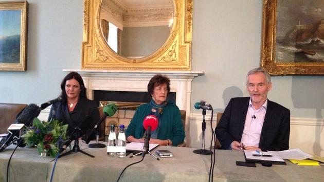 Jane Libberton, Philomena Lee and journalist Martin Sixsmith