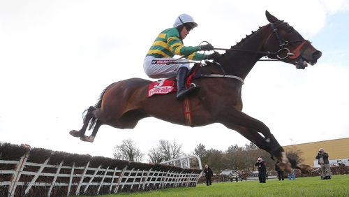 Jezki is one of three runners in the Racing Post Champion Hurdle