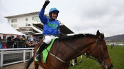 Hurricane Fly and Ruby Walsh rode to glory in the Ryanair Hurdle