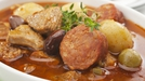 Sausage Casserole - One of Kevin Dundon's Frugal Family Food dishes.