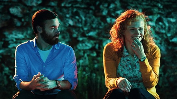 Will Forte as buttoned-down Dr Ted and free-spirtied Maxine Peake are drawn to each other in time of upheaval