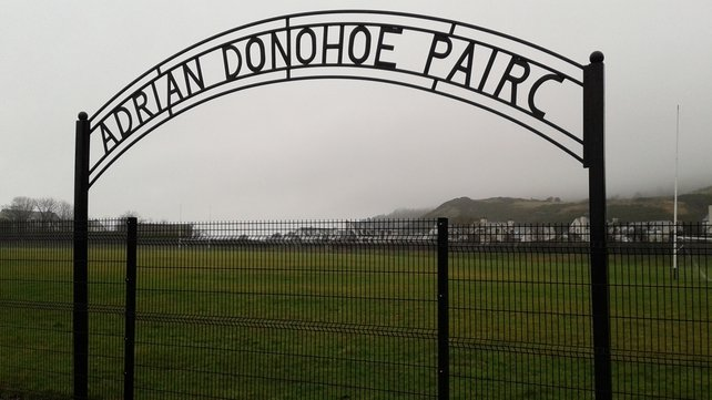A local football pitch was named in his honour