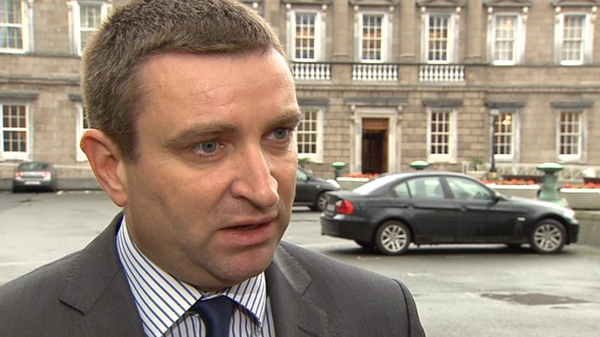 Niall Collins is Fianna Fáil's justice spokesperson
