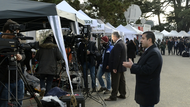 There is close media scrutiny of the negotiations
