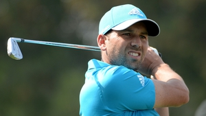 Sergio Garcia defeated Finland's Mikko Ilonen on the third hole of a sudden-death play-off