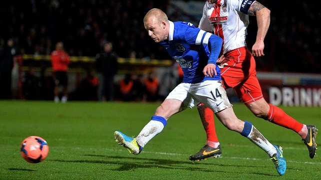 Steven Naismith scores his second goal