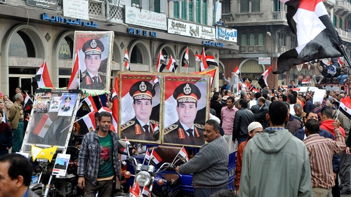 The growing violence has not dented the popularity of General Abdel Fattah al-Sisi