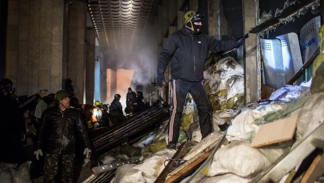Ukrainian opposition leader Arseniy Yatsenyuk has said protests will continue