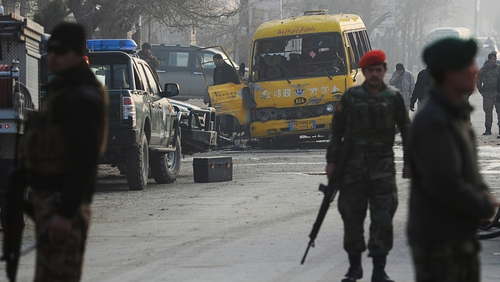 The Taliban has claimed responsibility for the attack on an army bus in Kabul