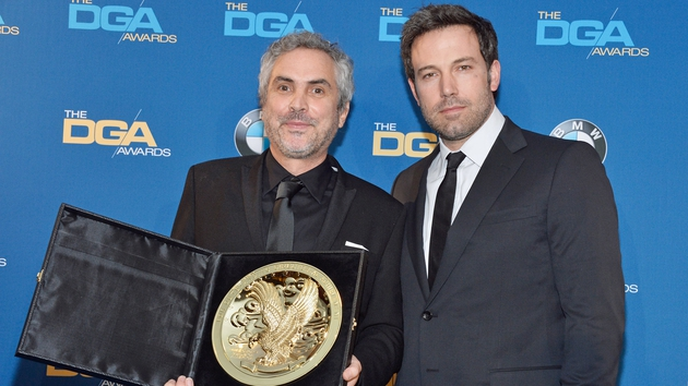 Ben Affleck presented Alfonso Cuaron with his Directors Guild of America award