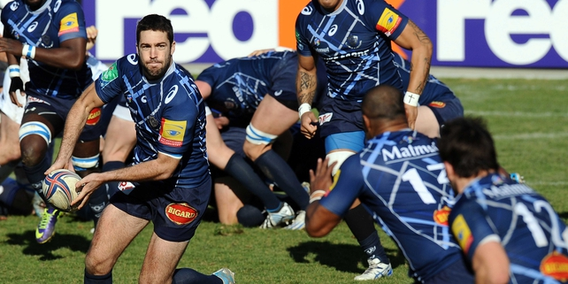 Remi Tales in action for Castres against Leinster